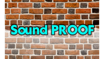 How to construct a sound – proof home recording studio?
